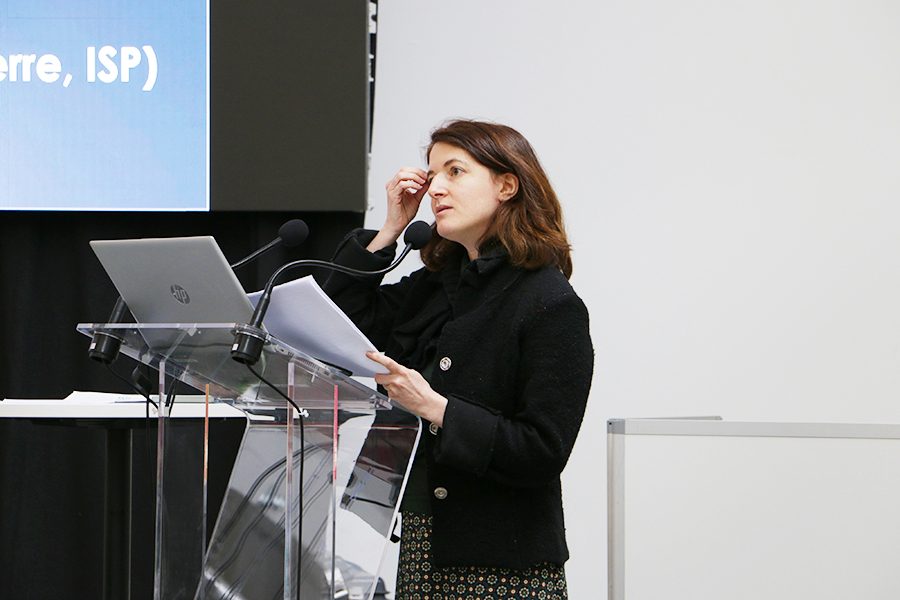 Laure Blevis, colloque TALM Tours